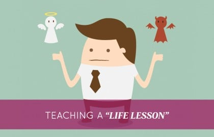 "Teaching a ""Life Lesson"""