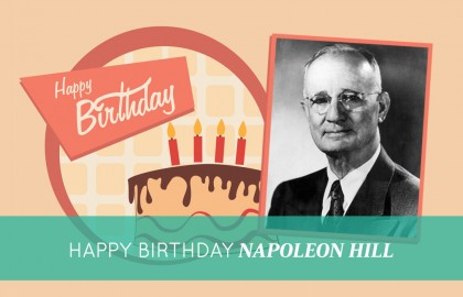 Happy Birthday, Napoleon Hill!