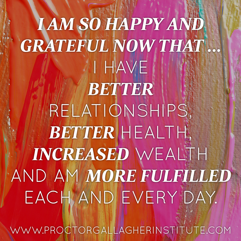 March 2014 Affirmation of the Month