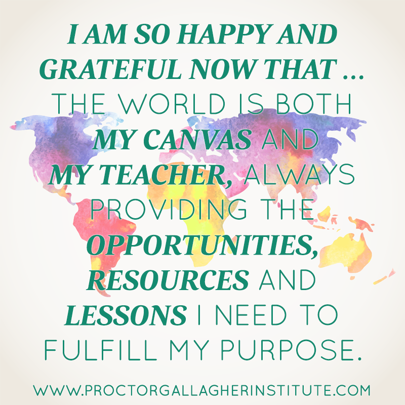 April 2014 Affirmation of the Month
