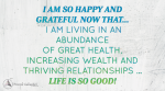 June 2014 Affirmation of the Month