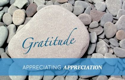 Appreciating Appreciation