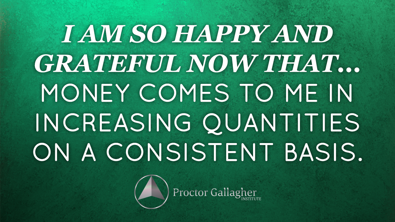 August 2014 Affirmation of the Month - Proctor Gallagher ...