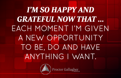 December 2014 Affirmation of the Month