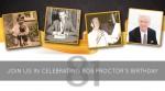 Join us in celebrating Bob Proctor's Birthday