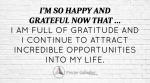 November 2015 Affirmation of the Month