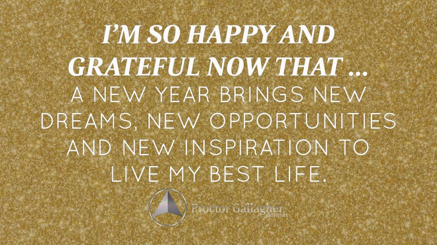 January 2016 Affirmation of the Month