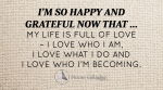 February 2016 Affirmation of the Month