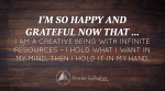 April 2016 Affirmation of the Month