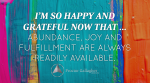 May 2016 Affirmation of the Month