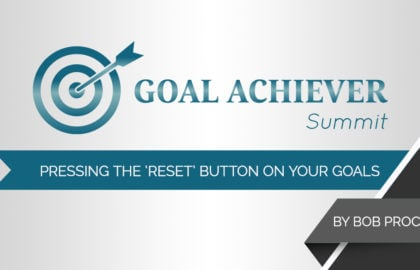 Pressing the 'Reset' Button on Your Goals