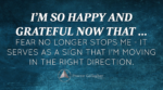 October 2016 Affirmation of the Month
