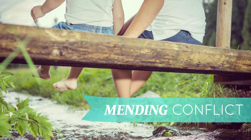Mending Conflict