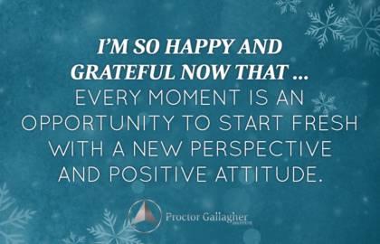 December 2016 Affirmation of the Month