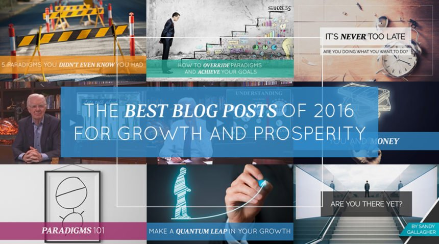 The Best Blog Posts of 2016 for Growth and Prosperity