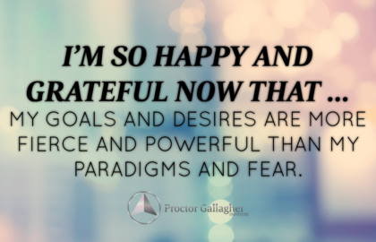 March 2017 Affirmation of the Month