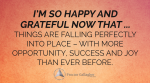 October 2017 Affirmation of the Month