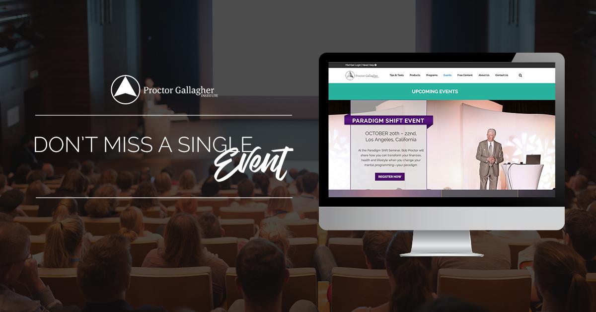 Events - Proctor Gallagher Institute