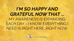November 2017 Affirmation of the Month