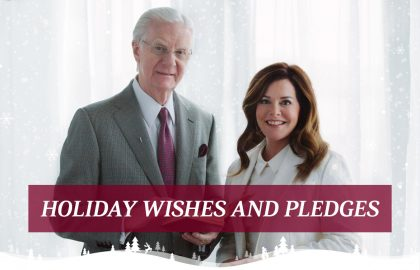 Holiday Wishes and Pledges