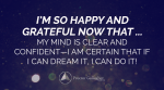 January 2018 Affirmation of the Month