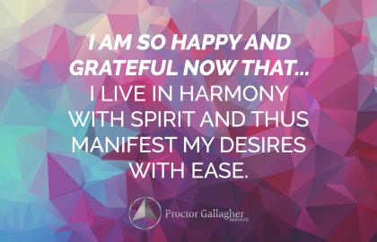 April 2018 Affirmation of the Month