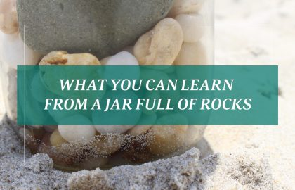What You Can Learn From a Jar Full of Rocks