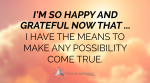 August 2018 Affirmation of the Month