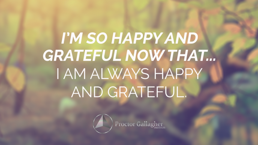 October 2018 Affirmation of the Month