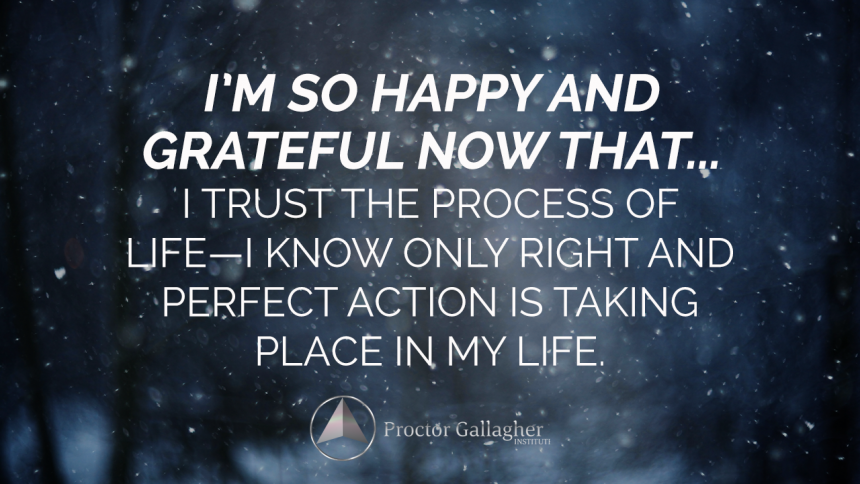 December 2018 Affirmation of the Month