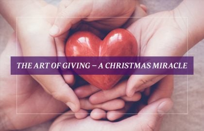 The Art of Giving – A Christmas Miracle