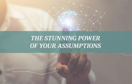 The Stunning Power of Your Assumptions