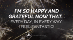 July 2019 Affirmation of the Month