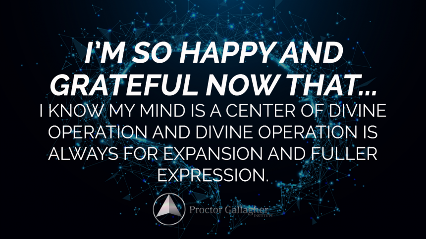 September 2019 Affirmation of the Month