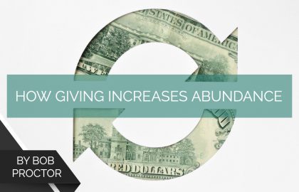 How Giving Increases Abundance
