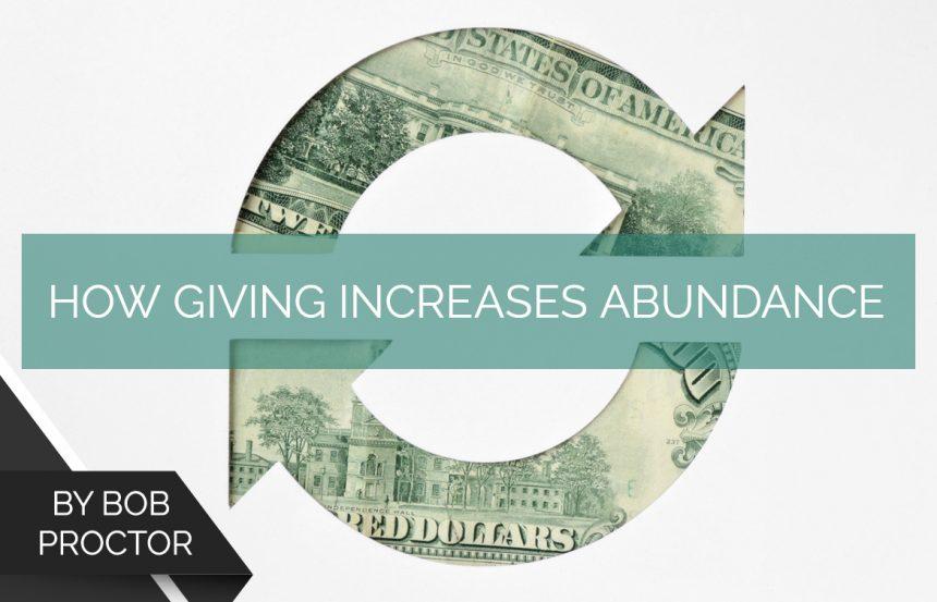 How Giving Increases Abundance