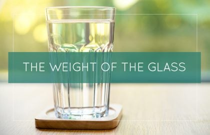 The Weight of the Glass