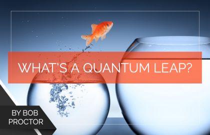 What's a Quantum Leap?