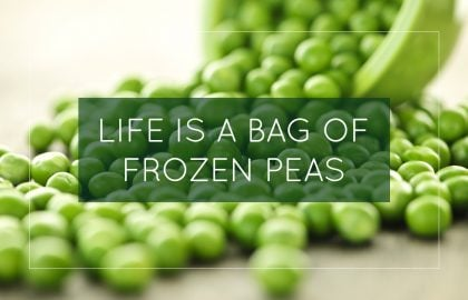 Life is a Bag of Frozen Peas