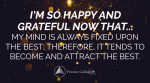 November 2020 Affirmation of the Month