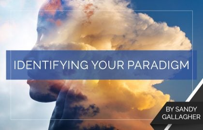 Identifying Your Paradigm