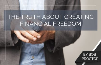 The Truth About Creating Financial Freedom