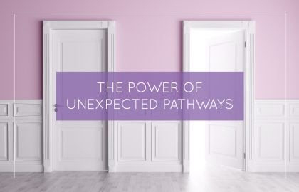 The Power of Unexpected Pathways